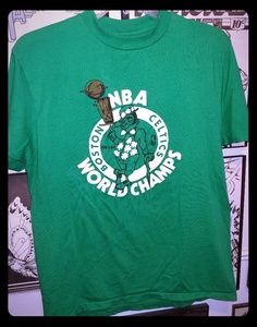 Excellent Vintage 1984 Celtics NBA Champs Shirt